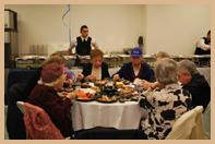 Chanukah Party at Margaret Tietz